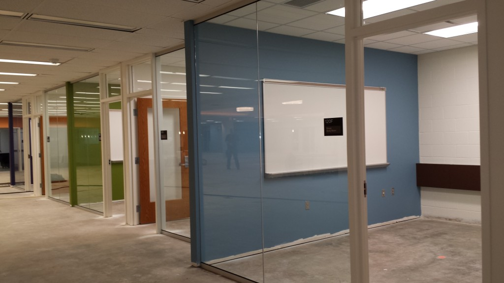 Group study rooms at the Bromfield Library and Information Commons will be named for donors.