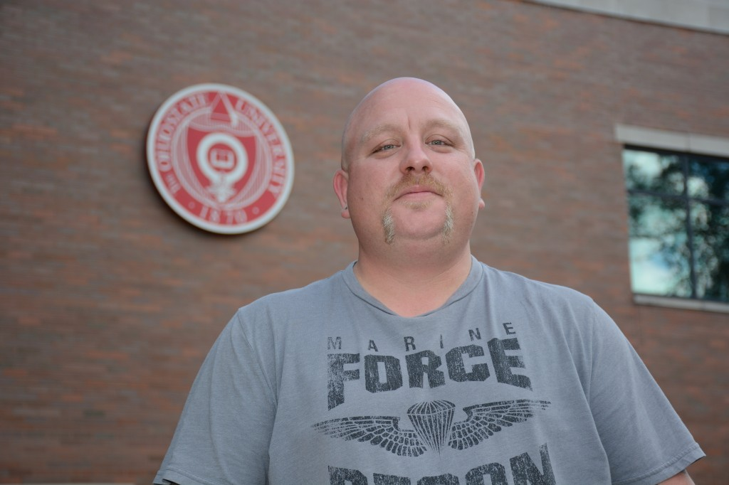 Josh Hurrell, a junior at The Ohio State University at Mansfield, is the new student-veteran community advocate.