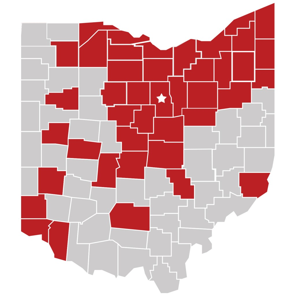 Ohio State Mansfield students in the 2013-14 school year came from 42 of Ohio's 88 counties. As the demographics change to a more residential campus, more services will be needed.