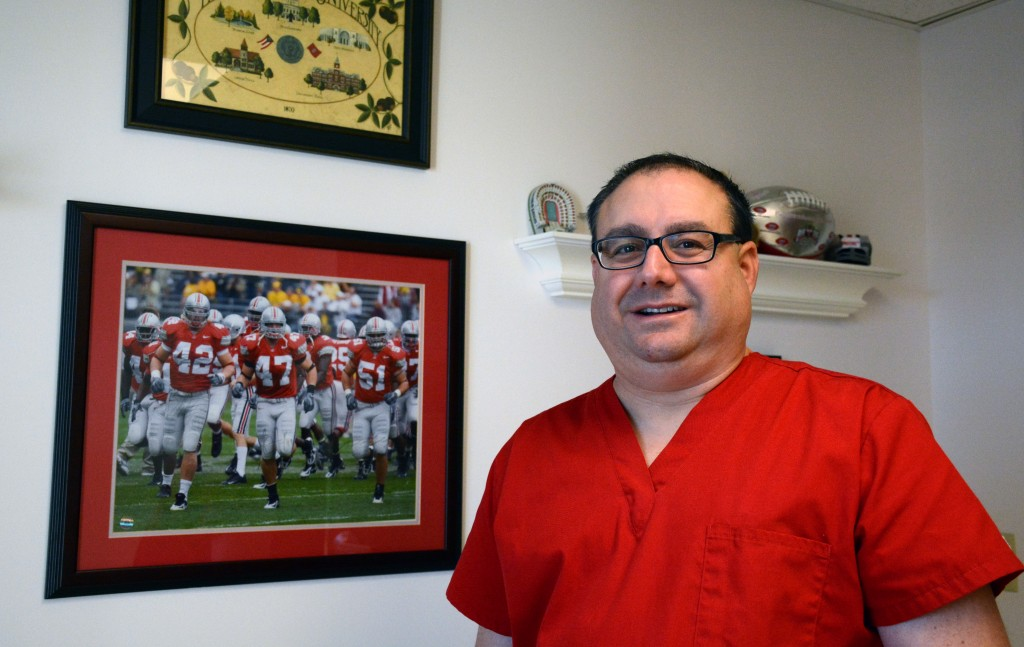 Mansfield dermatologist Christ Ticoras credits The Ohio State University for his success as a community volunteer.
