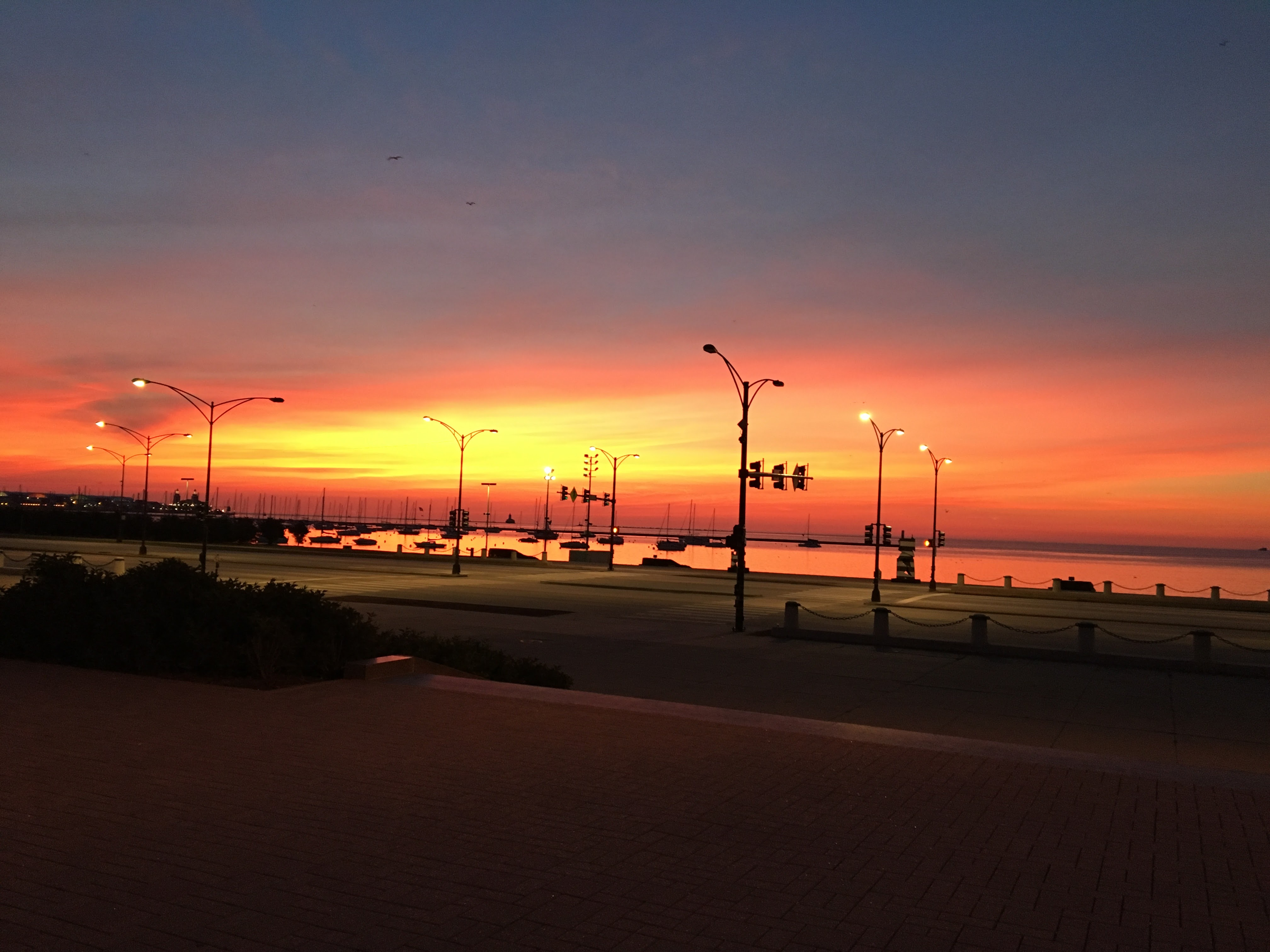 sunrise early