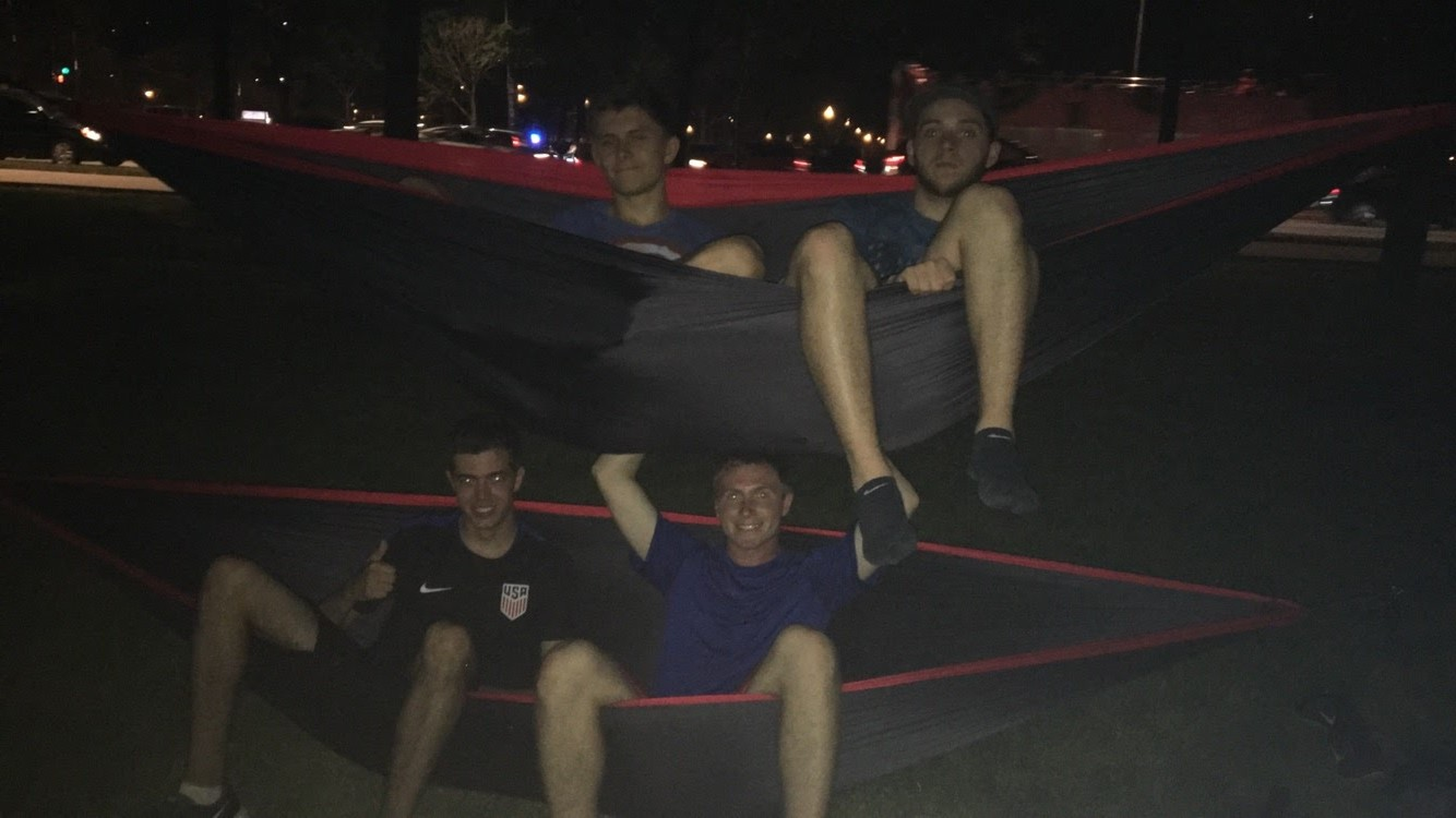 Hammocking to Fireworks