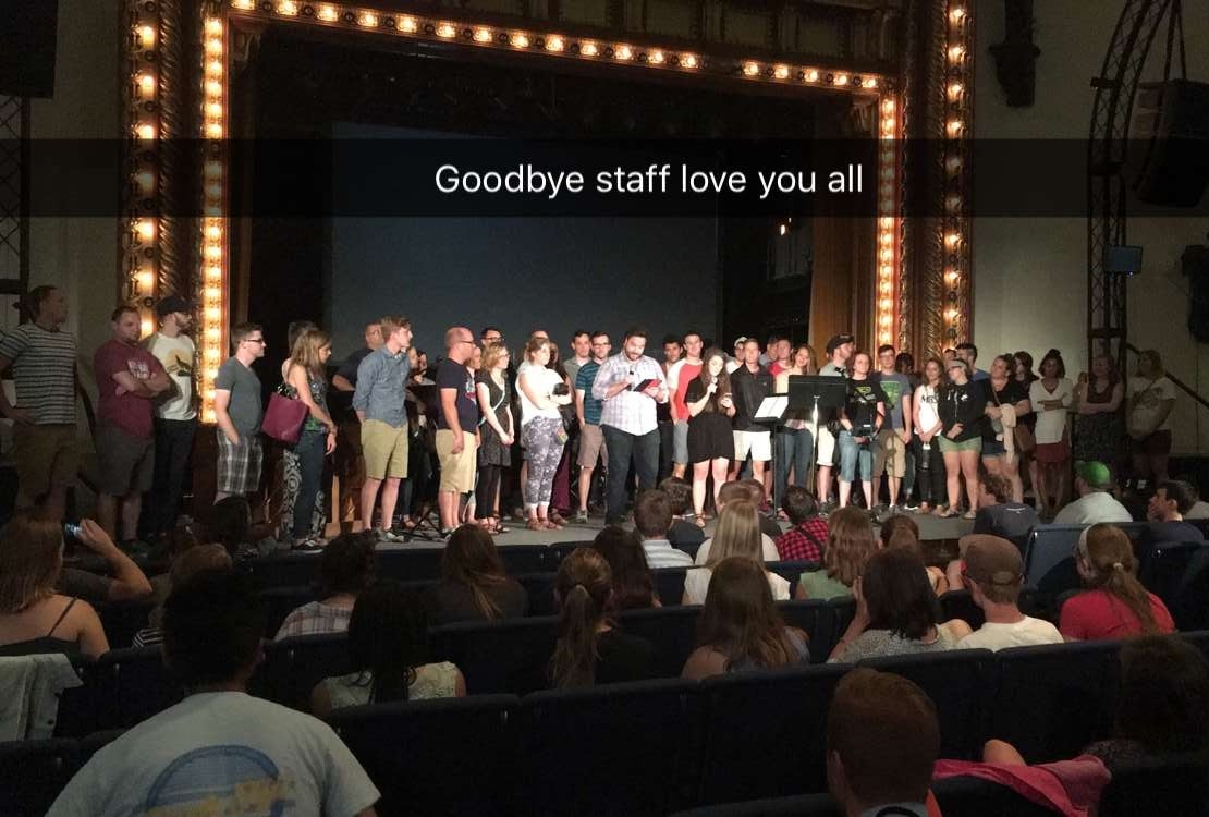 Final day with Staff