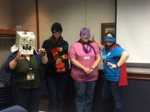 Training Meeting (aka Summer Reading Superheroes)