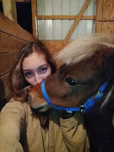 Therapy horse kisses!