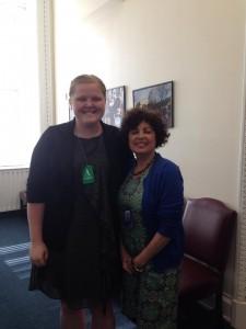 Lynn Rosenthal and I