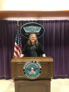 Visiting the U.S. Pentagon