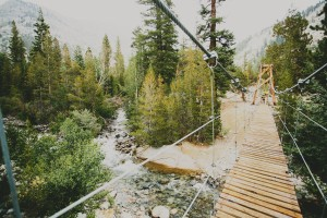 JMT suspension bridge