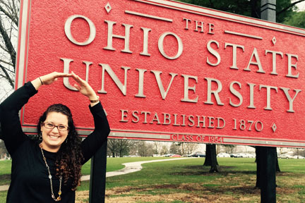 Mary Rodriguez is excited to be a member of the Ohio State faculty.