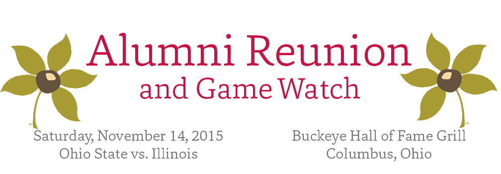 Alumni Reunion - Web Header, Top Marquee
