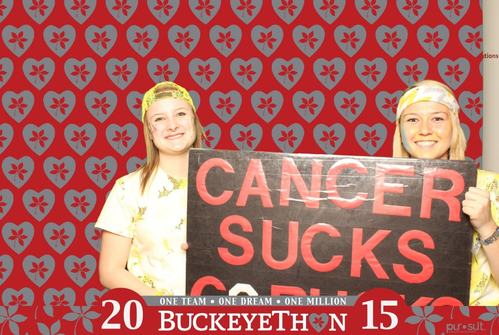 Abbey and Hayley particpated in BuckeyeThon 2015.