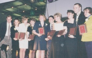 1998 Top 10 Seniors of CFAES