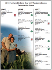 image of sustainable farm tour schedule