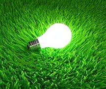 green light bulb-1