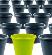 plastic pots 2