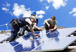 solar panel installation for GB