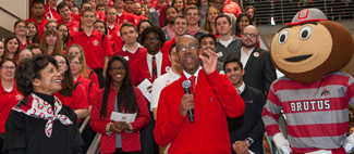 image of new Ohio State President Michael Drake