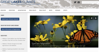 climate website for GB