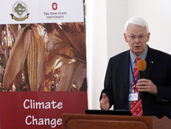 Steve Slack at climate change conference