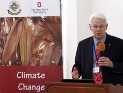 Steve Slack at climate change conference