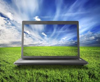 Photo of laptop computer