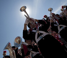 Image of Ohio State marching band 2