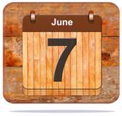 June 7.
