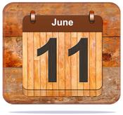 June 11.