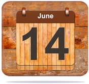 June 14.