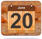 June 20.