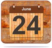 June 24.
