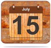 July 15.