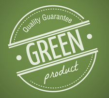Green Product Stamp and Label