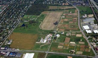 Aerial image of Waterman Farm