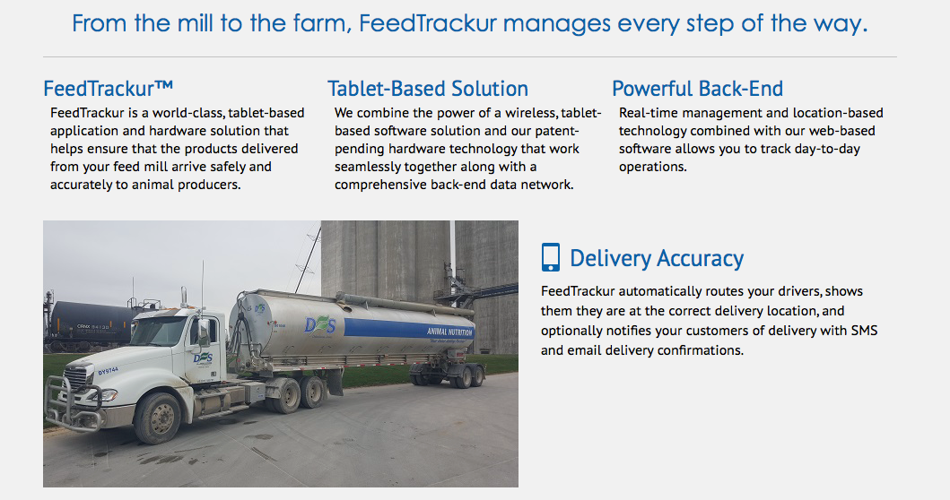 FeedTrackur | Ag Software Library Draft