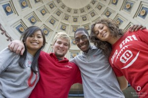 OSU students from different racial backgrounds