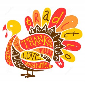 Thanksgiving turkey illustration