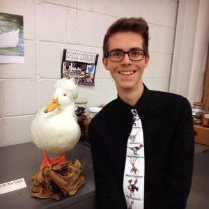 About the Author: Grant Terrell is a second year student at the Ohio State University who is currently double-majoring in Evolution & Ecology and History. He currently works as a Curatorial Assistant in the Tetrapod Collection of the Museum of Biological Diversity and focuses on Ornithology.