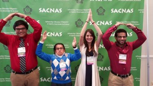 OSU SACNAS Chapter members