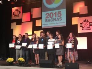 Oral Presentation Winners- Graduate Students Steven Villanueva Jr. won Best Oral Presentation in Astronomy