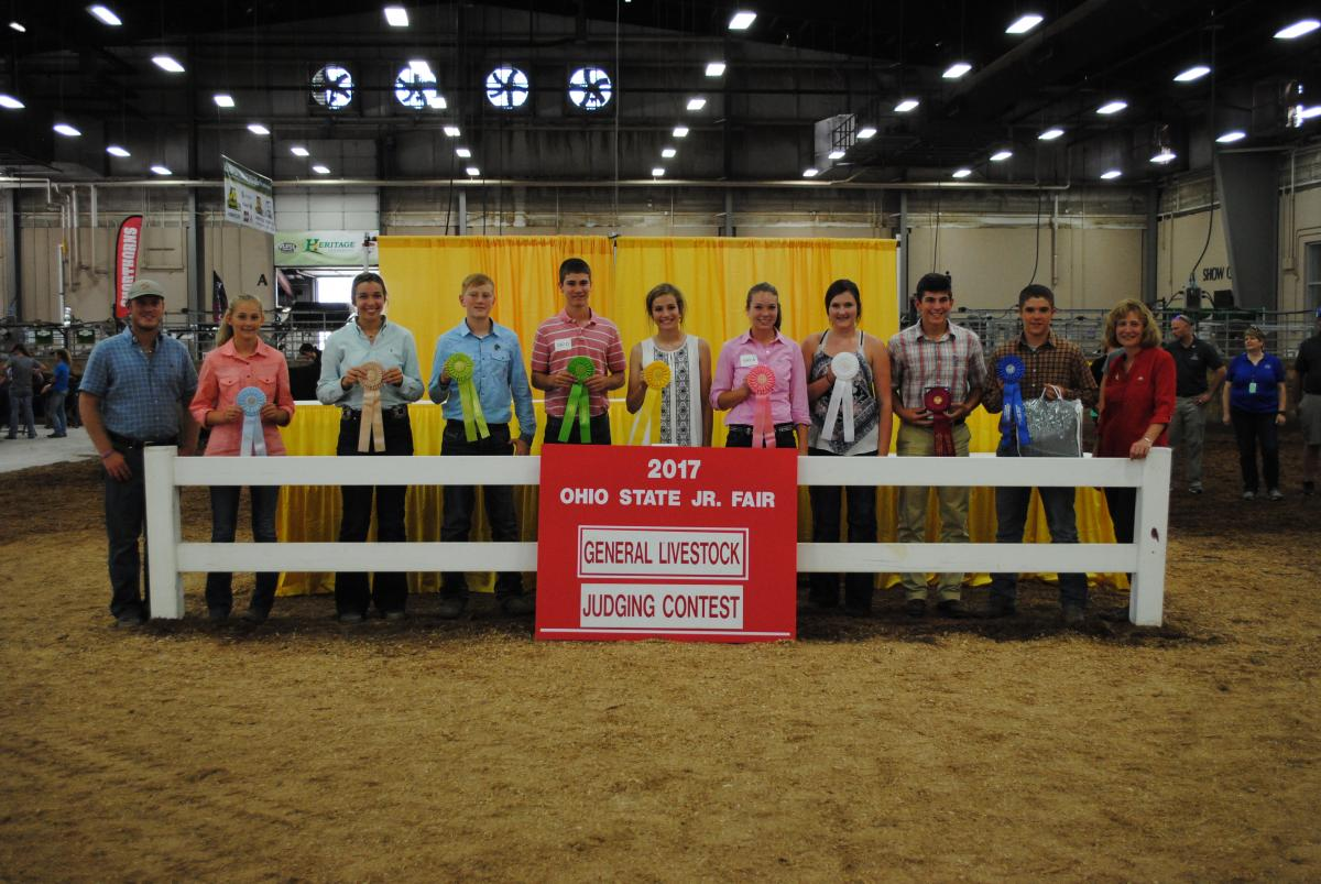 2020 Ohio State Fair Equine Show.Judging Fairfield County 4 H Page 5