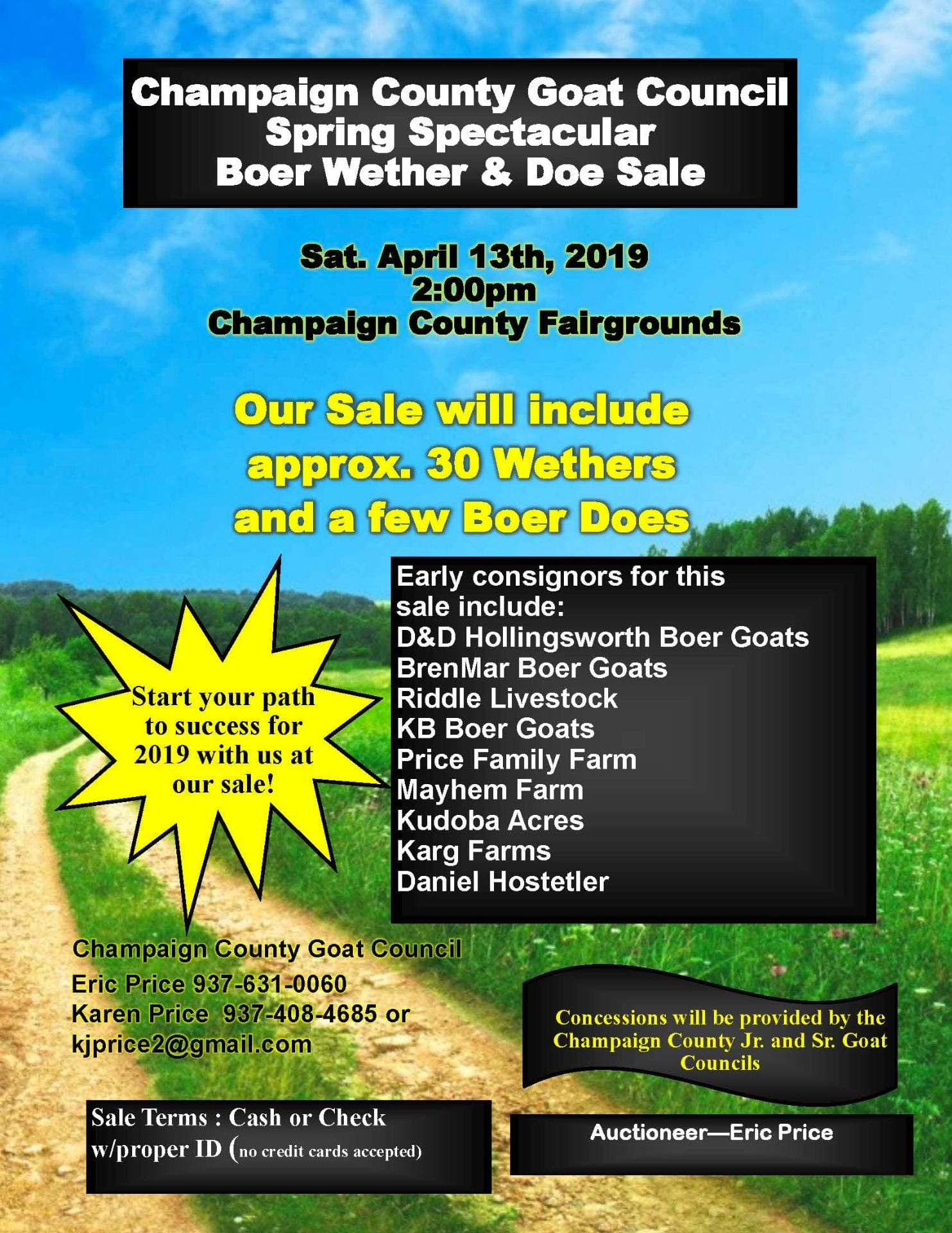 Champaign County Goat Council – Boer Wether and Doe Sale 4