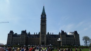 Where I worked, Centre block
