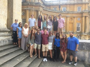 OSU Pre-Law students outside of Blenheim Palace. Blenheim Palace is primarily known for being the residence of the Duke of Marlborough.