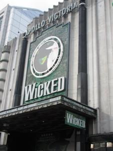 Apollo Victoria theater in London.
