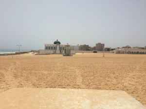 Mosque on the beach at Yoff