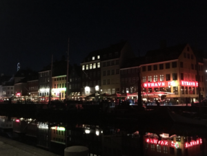 Nyhavn, the canal and waterfront area of Copenhagen, Denmark