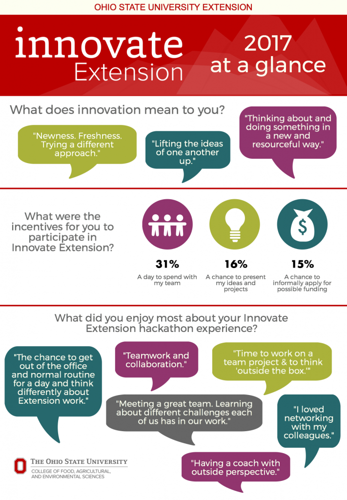2017 Innovate Extension Infographic