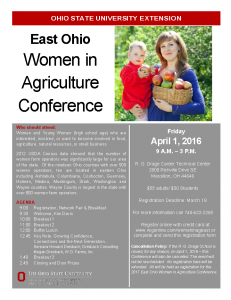 East OH WiAg - Flyer front