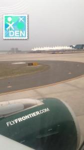 Landing in Denver